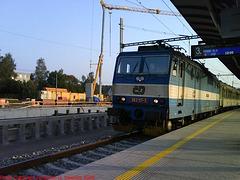 CD #363117-3 at Nadrazi Cercany, Cercany, Bohemia (CZ), 2009