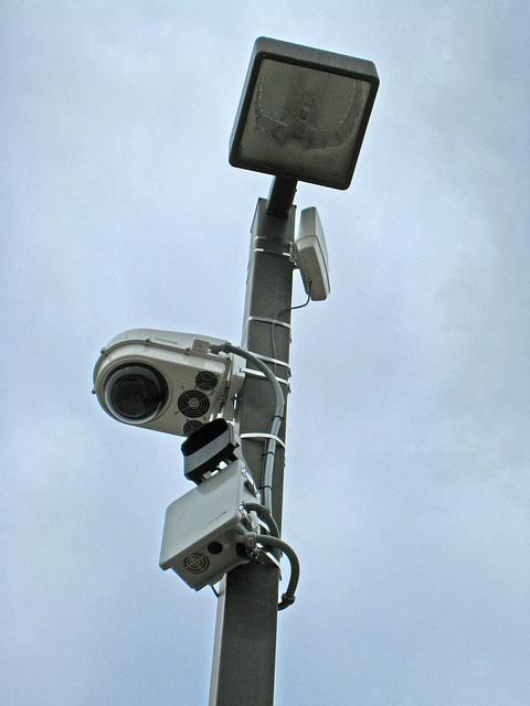 Police Camera Near Library (4661)