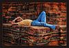 sleeping in red bricks