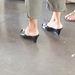 Chaussures et pieds érotiques de mariage  / Wedding party candid shot /  Photographe: Christiane / Anonyme