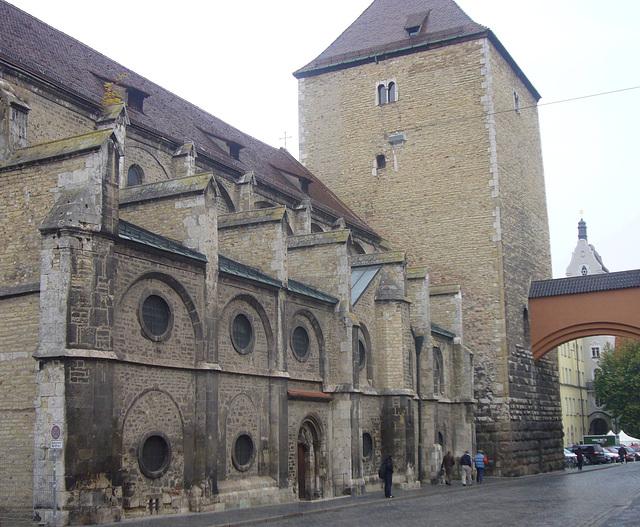 Regensburg - St.Ulrich u. Römerturm