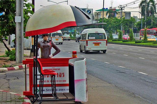 Automation on main roads in Bangkok
