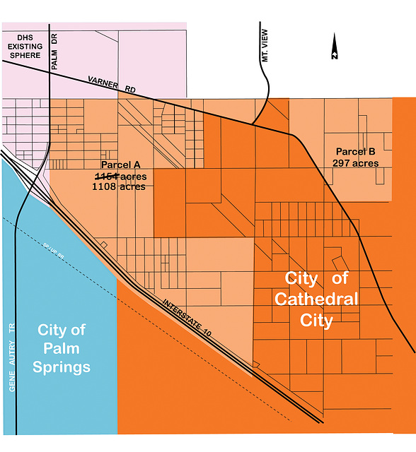 Cathedral City SOI pre-2007