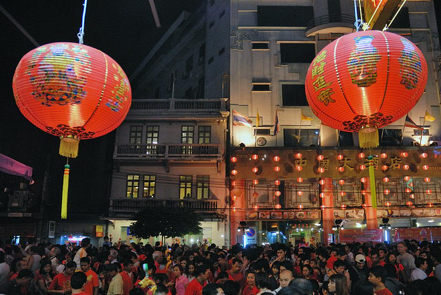 At China Town in Bangkok