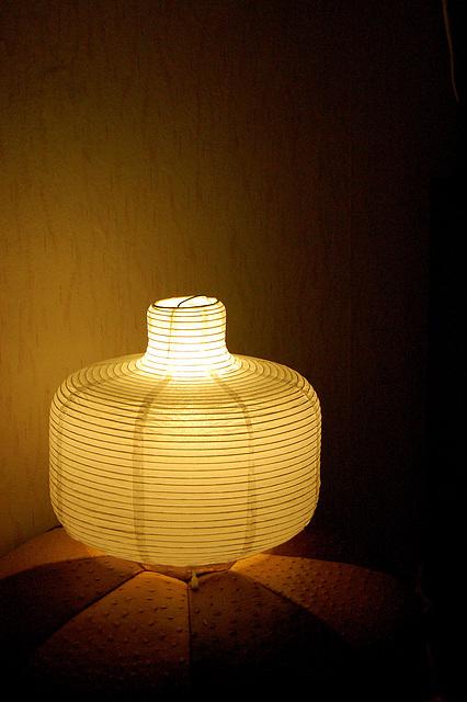 ĉina paperlampo - chinesische Papierlampe