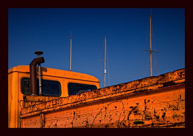 the orange barque