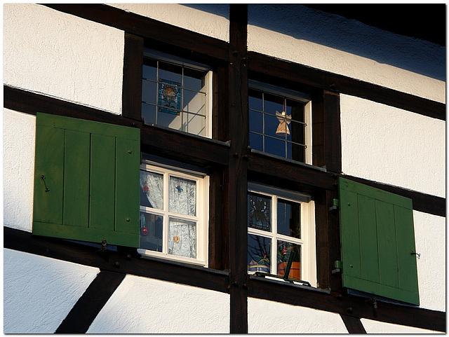 Fachwerkfenster