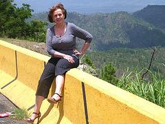 Mon amie / Mi amiga / My friend Elisabeth - Visitando Comayagua