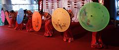 Umbrella girls from south Yunnan
