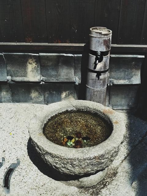 bamboo faucet-itsukushima