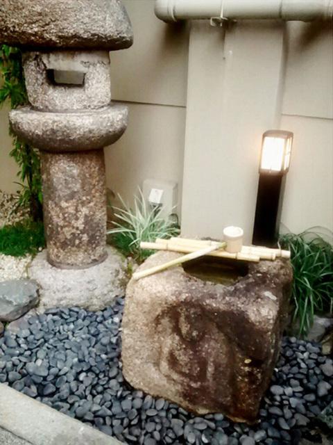 fountain & lantern