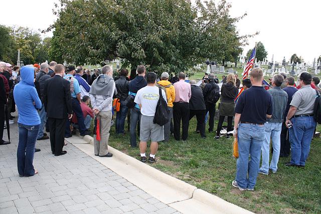 29.MatlovichMemorial.CC.Wreath.SE.WDC.10October2009