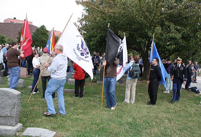 32.MatlovichMemorial.CC.Wreath.SE.WDC.10October2009