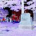 Whiting church cemetery. 30 nord entre 4 et 125. New Hampshire, USA. 26-07-2009-  Négatif avec soupçon de rouge