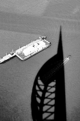 Spinnaker Tower  August 2014 GR  3 mono