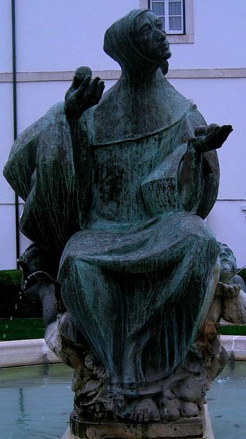 Alcobaça, Cistercian Monk (sculpture)