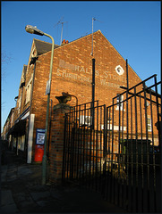 Hall's Stores ghost sign