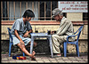 game between old and young
