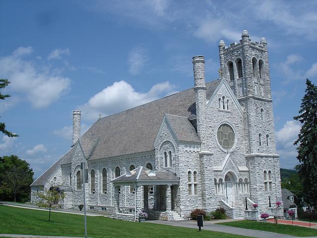 St-Mary's Assumption church / Middleburg, Vermont /  USA - États-Unis