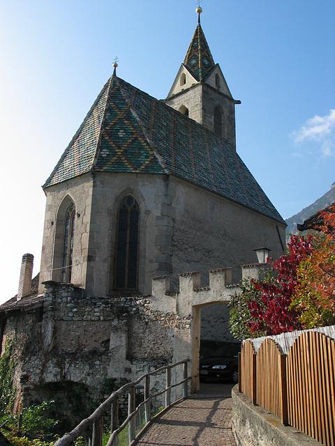 Kirche in Altenburg/Südtirol