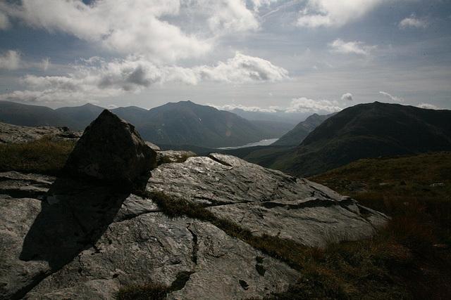 Munro in Glen Etive
