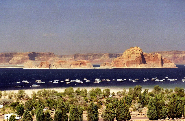 Photo réponse : le lac Powell