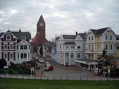 Cuxhaven vom Deich aus
