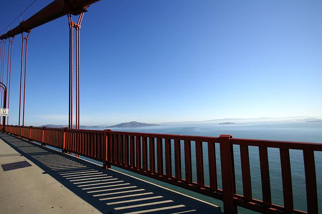 walk over the golden gate bridge
