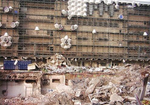 2007-02-07 Abriss Centrum-Warenhaus