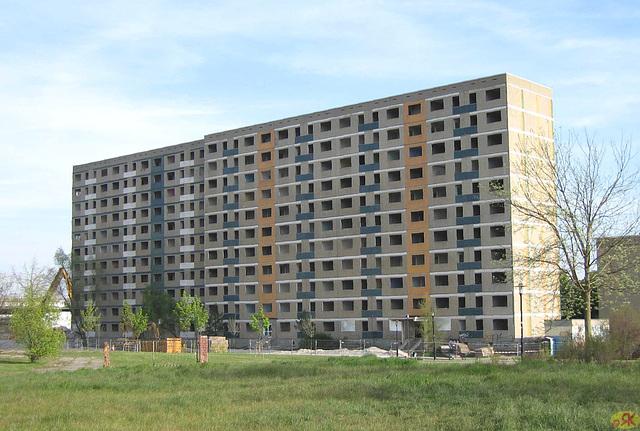 2007-04 2 Halle-Saale, Abriss Silberhöhe
