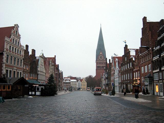 Heiligabend in Lüneburg