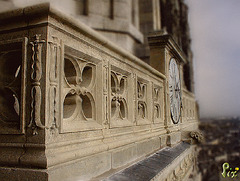 Balustrade cathedrale Angers