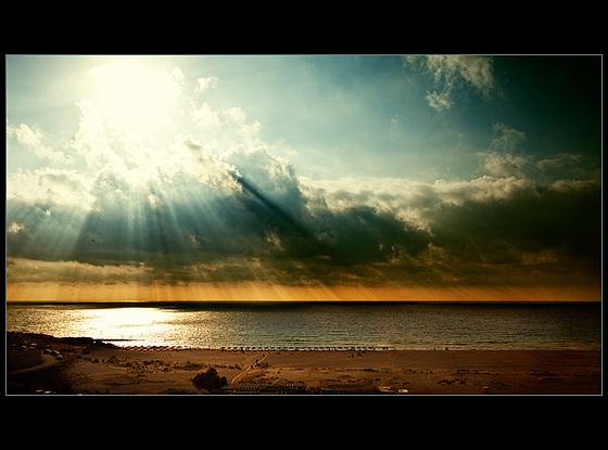glowing horizon......