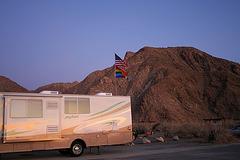 Borrego Palm Canyon Campground at Dawn (3155)