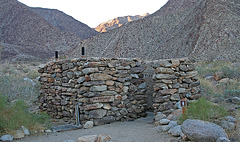 Borrego Palm Canyon Campground Restroom - roofless (3203)