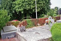 la tombe d'Emile Grosjean-Maupin