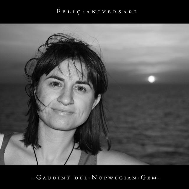 Gaudint del Norwegian Gem [#12] :: Feliç aniversari