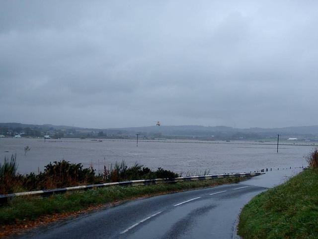 Kintore flood
