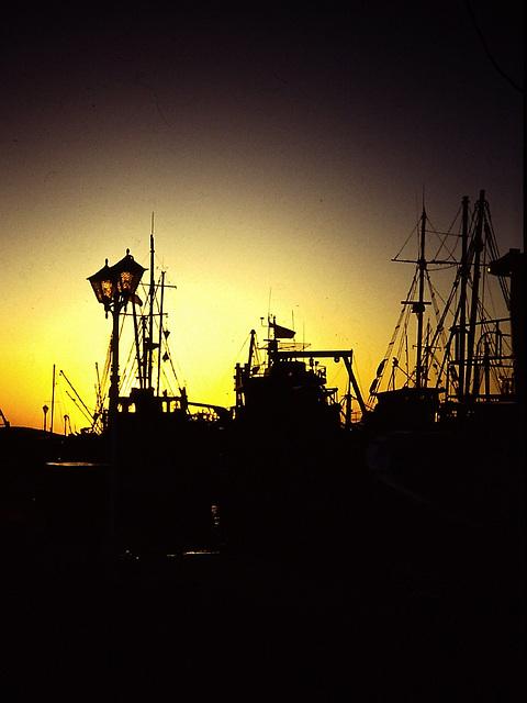 PICT0083 Hafen im Gegenlicht