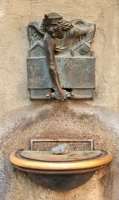 Ruhepause für den Brunnen