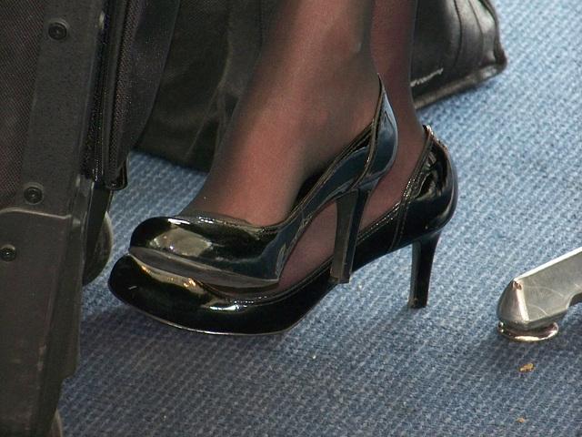 stewardess shoes