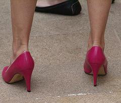 street shot heels