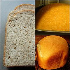 Bruinbrood met de timer