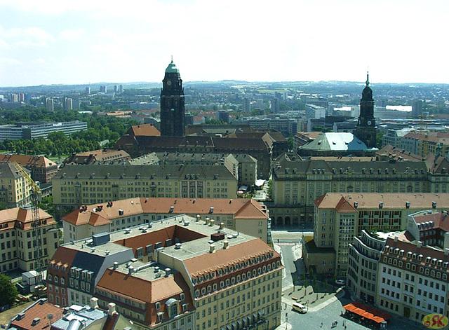 2009-06-17 045 von der Frauenkirche