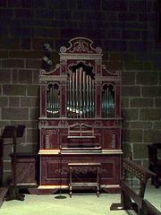 Catedral de Pamplona: órgano de capilla.