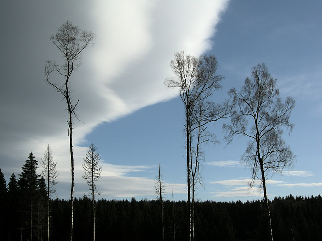 Wolkenwand