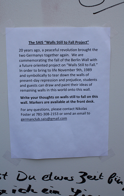 07.BerlinWallProject.JHU.SAIS.WDC.9November2009