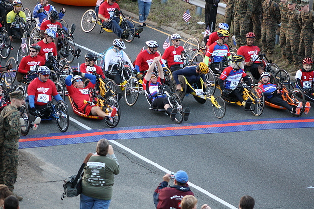 01.MCM34.WheelchairStart.Route110.Arlington.VA.25October2009