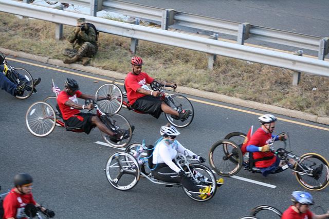 09.MCM34.WheelchairStart.Route110.Arlington.VA.25October2009