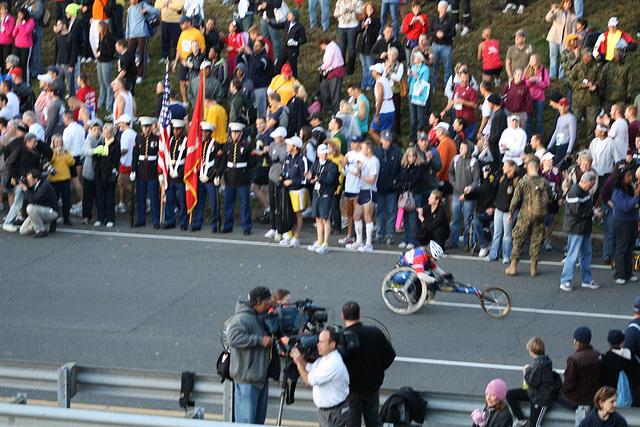 12.MCM34.WheelchairStart.Route110.Arlington.VA.25October2009